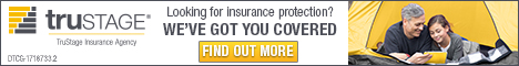 TruStage Insurance Agency Ad, Looking for Insurance Protection? We've Got You Covered.
